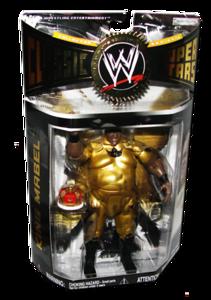 King Mabel Autographed JAKKS Pacific WWE Classic Superstars Series 18 Figure