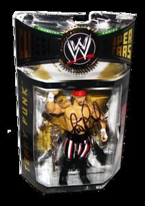 Terry Funk Autographed JAKKS Pacific WWE Classic Superstars Series 5 Figure