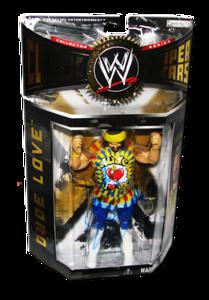 Dude Love Autographed JAKKS Pacific WWE Classic Superstars Series 2 Figure