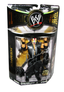 Smash Autographed JAKKS Pacific WWE Classic Superstars Series 14 Figure