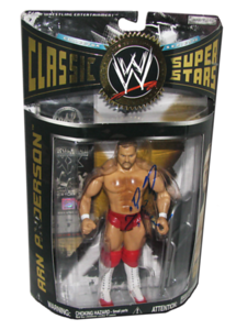 Arn Anderson Autographed JAKKS Pacific WWE Classic Superstars Series 12 Figure