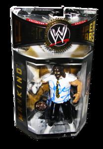 Mankind Autographed JAKKS Pacific WWE Classic Superstars Series 2 Figure