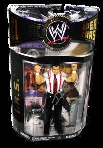 IRS Autographed JAKKS Pacific WWE Classic Superstars Series 11 Figure