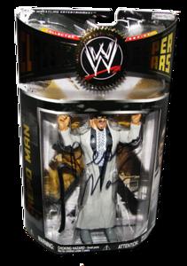 Repo Man Autographed JAKKS Pacific WWE Classic Superstars Series 17 Figure
