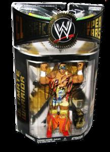 Ultimate Warrior Autographed JAKKS Pacific WWE Classic Superstars Series 14 Figure
