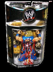 Ultimate Warrior Autographed JAKKS Pacific WWE Classic Superstars Series 12 Figure