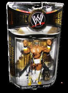 Ultimate Warrior Autographed JAKKS Pacific WWE Classic Superstars Series 16 Figure