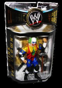 Doink The Clown Autographed JAKKS Pacific WWE Classic Superstars Series 6 Figure
