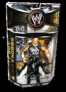 Nasty Boy Brian Knobbs Autographed JAKKS Pacific WWE Classic Superstars Series 12 Figure