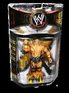 Ultimate Warrior Autographed JAKKS Pacific WWE Classic Superstars Series 7 Figure