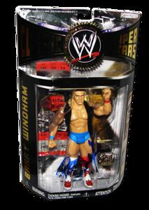 Barry Windham Autographed JAKKS Pacific WWE Classic Superstars Series 11 Figure