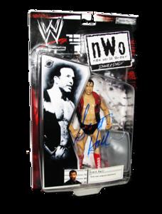 Scott Hall Autographed JAKKS Pacific nWo BACK & BAD (Wrestling Gear) Figure