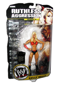 Kelly Kelly Autographed JAKKS Pacific WWE RUTHLESS AGGRESSION Series 31 Figure