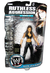 Katie Lea Burchill Autographed JAKKS Pacific WWE RUTHLESS AGGRESSION Series 37 Figure