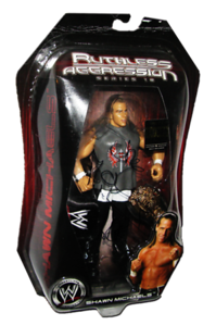 Shawn Michaels Autographed JAKKS Pacific WWE RUTHLESS AGGRESSION Series 18 - 1 of 500 Figure