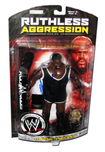 Mark Henry Autographed JAKKS Pacific WWE RUTHLESS AGGRESSION Series 30 - 1 of 500 Figure