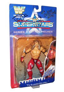 Shawn Michaels Autographed JAKKS Pacific WWF Superstars Series 2 Figure