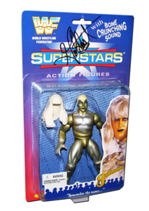 Goldust Autographed JAKKS Pacific WWF Superstars Series 1 Figure