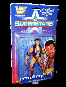 Razor Ramon Autographed JAKKS Pacific WWF Superstars Series 1 Figure