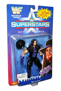 The Undertaker Autographed JAKKS Pacific WWF Superstars Series 1 Figure