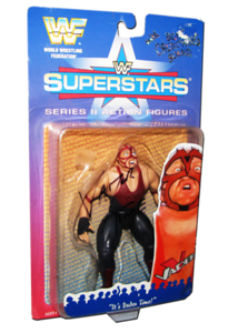 Vader Autographed JAKKS Pacific WWF Superstars Series 2 Figure