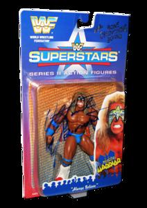 Ultimate Warrior Autographed JAKKS Pacific WWF Superstars Series 2 Figure