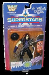 The Undertaker Autographed JAKKS Pacific WWF Superstars Series 2 Figure