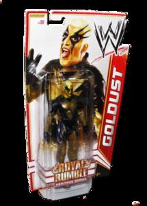 Goldust Autographed WWE Basic Mattel Series 14 Figure (Royal Rumble Heritage Series)