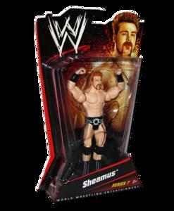 Sheamus Autographed WWE Basic Mattel Series 7 Figure