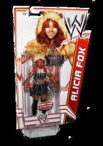 Alicia Fox Autographed WWE Basic Mattel Series 23 Figure