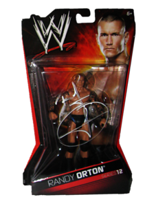 Randy Orton Autographed WWE Basic Mattel Series 12 Figure