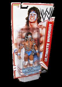 Ultimate Warrior Autographed WWE Basic Mattel Series 16 Figure (Wrestlemania Heritage Series)