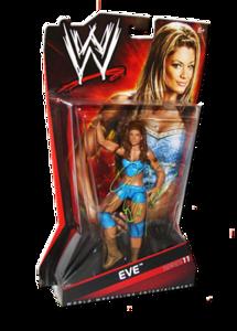Eve Autographed WWE Basic Mattel Series 11 Figure