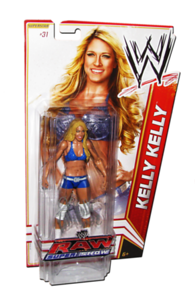 Kelly Kelly Autographed WWE Basic Mattel Series 18 Figure (RAW SUPERSHOW Series)