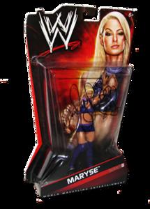 Maryse Autographed WWE Basic Mattel Series 8 Figure