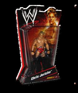 Chris Jericho Autographed WWE Basic Mattel Series 3 Figure