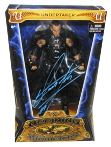 Undertaker Autographed Mattel WWE Defining Moments Figure