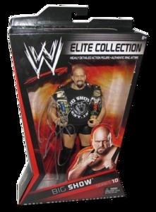 Big Show Autographed Mattel WWE ELITE COLLECTION Series 10 Figure