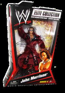 John Morrison Autographed Mattel WWE ELITE COLLECTION Series 4 Figure (Variant)