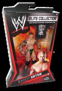 Randy Orton Autographed Mattel WWE ELITE COLLECTION Series 9 Figure