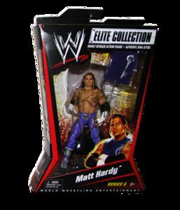 Matt Hardy Autographed Mattel WWE ELITE COLLECTION Series 6 Figure