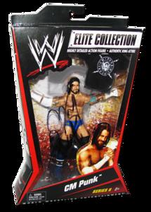 CM Punk Autographed Mattel WWE ELITE COLLECTION Series 6 Figure