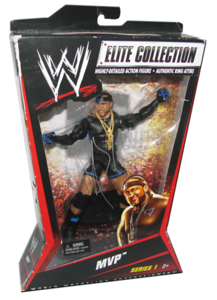 MVP Autographed Mattel WWE ELITE COLLECTION Series 1 Figure