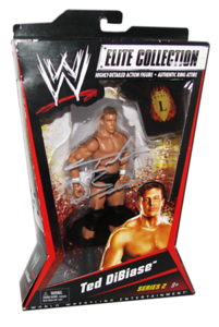 Ted Dibiase Autographed Mattel WWE ELITE COLLECTION Series 2 Figure