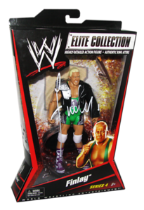 Finlay Autographed Mattel WWE ELITE COLLECTION Series 4 Figure