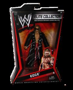 Edge Autographed Mattel WWE ELITE COLLECTION Series 8 Figure