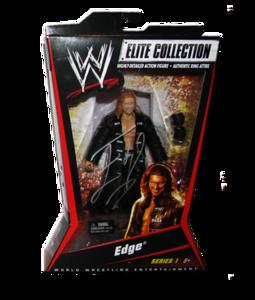 Edge Autographed Mattel WWE ELITE COLLECTION Series 1 Figure