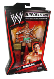 Ted Dibiase Autographed Mattel WWE ELITE COLLECTION Series 10 Figure (Variant)