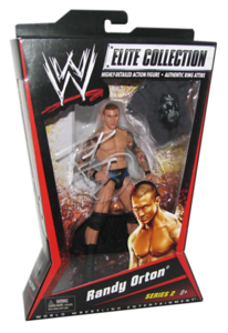 Randy Orton Autographed Mattel WWE ELITE COLLECTION Series 2 Figure