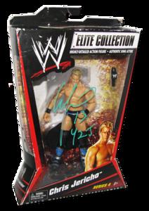 Chris Jericho Autographed Mattel WWE ELITE COLLECTION Series 4 Figure